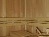 finská sauna -pohled 1