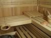 finská sauna -pohled 2