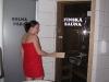 Vstup do finské sauny